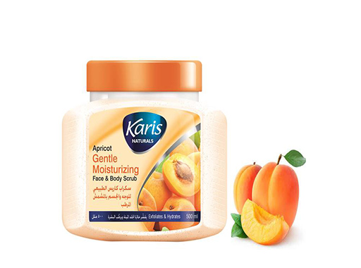 Apricot Gentle Moisturizing Face and Body Scrub